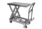 Record MMLT-SSG Manual Stainless Steel Lift Table