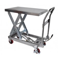 450KG Manual Stainless Steel Lift Table - MMLT50SSG