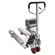 Record WS2000S STAINLESS STEEL Weigh Scale Hand Pallet Truck
