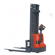 Record CLC12HS Series Fully Powered Straddle Stacker