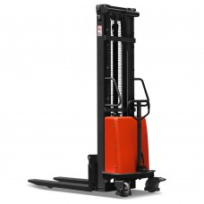 1000kg 2500mm  Semi-Electric Pedestrian Stacker Record CTE1025H