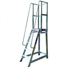 Record ATS-H Aluminium Trade Stepladder with Handrail
