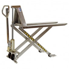 Record HMXSS Stainless-Semi Manual High Lift Pallet Truck