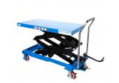 Manual 800KG Double Scissor Lift Table - MMLT80DG