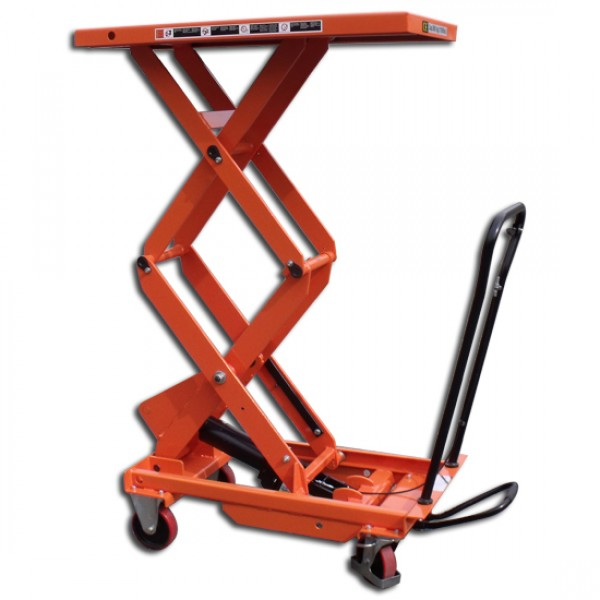 Manual Lift Equipment : Record mmlt d manual mobile lift table tables