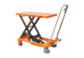Record NTF Manual Mobile Lift Table