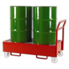 Record RVDST Mobile Drum Sump Trolley/Dispenser