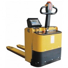 Record TEB Fully Powered Pallet Truck with Weigh Scale