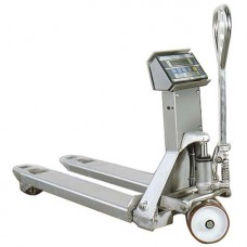 Record TSX Stainless Weigh Scale Pallet Truck