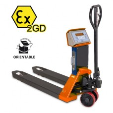 Record WS2000 Atex 2 Weigh Scale Hand Pallet Truck